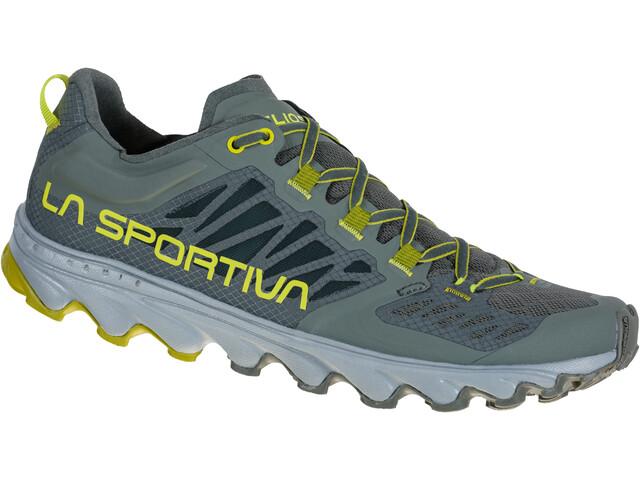 La Sportiva Helios III Running Shoes Men, clay/citrus